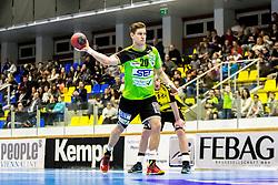 23.02.2018, BSFZ Suedstadt, Maria Enzersdorf, AUT, HLA, SG INSIGNIS Handball WESTWIEN vs Bregenz Handball, Bonus-Runde, 3. Runde, im Bild Sebastian Frimmel (SG INSIGNIS Handball WESTWIEN) // during Handball League Austria, Bonus-Runde, 3 rd round match between SG INSIGNIS Handball WESTWIEN and Bregenz Handball at the BSFZ Suedstadt, Maria Enzersdorf, Austria on 2018/02/23, EXPA Pictures © 2018, PhotoCredit: EXPA/ Sebastian Pucher