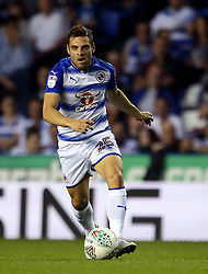 Reading's Adrian Popa in action