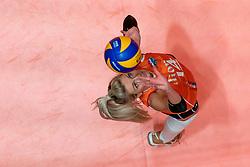 29-05-2019 NED: Volleyball Nations League Netherlands - Bulgaria, Apeldoorn<br /> Laura Dijkema #14 of Netherlands