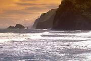 Pololu, Hamakua Coast, Island of Hawaii, Hawaii, USA<br />