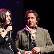 NLD/Amsterdam/20130211- Uitreiking Edison Pop 2013, Daphne Bunskoek en Marco Borsato