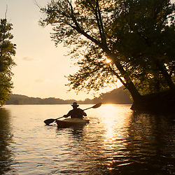 Summer Paddle on the Potomac