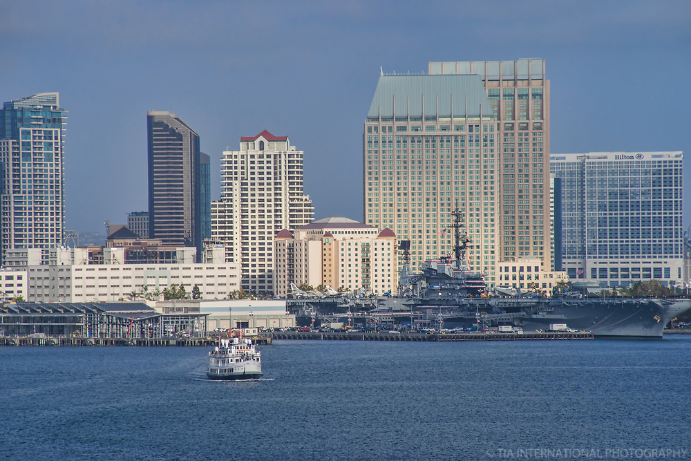USS Midway Museum & Downtown San Diego