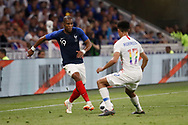 Djibril Sidibe of France and Antonee Robinson of USA during the 2018 Friendly Game football match between France and USA on June 9, 2018 at Groupama stadium in Decines-Charpieu near Lyon, France - Photo Romain Biard / Isports / ProSportsImages / DPPI