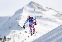 13.02.2020, Zwölferkogel, Saalbach Hinterglemm, AUT, FIS Weltcup Ski Alpin, Abfahrt, Herren, im Bild Carlo Janka (SUI) // Carlo Janka of Switzerland in action during his run for the men's Downhill of FIS Ski Alpine World Cup at the Zwölferkogel in Saalbach Hinterglemm, Austria on 2020/02/13. EXPA Pictures © 2020, PhotoCredit: EXPA/ Johann Groder
