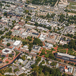 aerial view of University of Delaware, Newark Campus