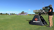 Sky Sport Camera at the ASB Premiership match, Hawkes Bay United vs Wellington Phoenix, Bluewater Stadium, Napier, Sunday, December 13, 2015. Copyright photo: Kerry Marshall / www.photosport.nz