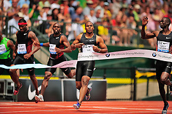 04.06.2011, Eugene, USA, Prefontaine Classic Track Meet, im Bild Walter Dix (USA) placed first in the men's 200m run with a time of 20.19 at the Prefontaine Classic at Hayward Field in Eugene, Oregon..June 4, 2011. EXPA Pictures © 2011, PhotoCredit: EXPA/ New Sport Photo +++++ ATTENTION - OUT OF USA  +++++