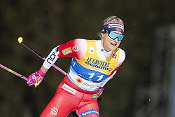 February 21, 2019 - Seefeld In Tirol, AUSTRIA - 190221 Mari Eide of Norway competes in women's cross-country skiing sprint qualification during the FIS Nordic World Ski Championships on February 21, 2019 in Seefeld in Tirol..Photo: Vegard Wivestad Grøtt / BILDBYRÃ…N / kod VG / 170285 (Credit Image: © Vegard Wivestad GrØTt/Bildbyran via ZUMA Press)
