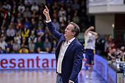 DESCRIZIONE : Beko Legabasket Serie A 2015- 2016 Dinamo Banco di Sardegna Sassari - Manital Auxilium Torino<br /> GIOCATORE : Federico Pasquini<br /> CATEGORIA : Allenatore Coach Schema Mani<br /> SQUADRA : Dinamo Banco di Sardegna Sassari<br /> EVENTO : Beko Legabasket Serie A 2015-2016<br /> GARA : Dinamo Banco di Sardegna Sassari - Manital Auxilium Torino<br /> DATA : 10/04/2016<br /> SPORT : Pallacanestro <br /> AUTORE : Agenzia Ciamillo-Castoria/L.Canu