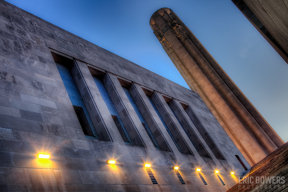 Liberty Memorial, the National World War One Museum, in downtown Kansas City, Missouri.