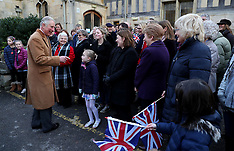 The Prince of Wales in Cheltenham - 22 Dec 2016