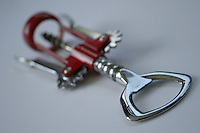 corkscrew and bottle opener