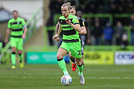 Forest Green Rovers Joseph Mills(23) during the EFL Sky Bet League 2 match between Forest Green Rovers and Lincoln City at the New Lawn, Forest Green, United Kingdom on 2 March 2019.