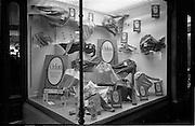 29/03/1963<br /> 03/29/1963<br /> 29 March 1963<br /> Du Pont Orlon fashion week window displays at McCullaghs, Dun Laoghaire, Dublin.