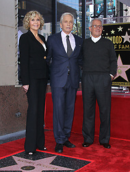 Michael Douglas to receive the 2,648th star on the Hollywood Walk of Fame. 06 Nov 2018 Pictured: Michael Douglas, Jane Fonda. Photo credit: Jaxon / MEGA TheMegaAgency.com +1 888 505 6342