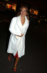 JADE JAGGER<br /><br />at the 33rd birthday party of Jade Jagger, held at Garrard, 8 Grafton Street, London W1 on 21st October 2004.<br /><br /><br /><br />NON EXCLUSIVE - WORLD RIGHTS
