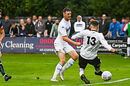 Leeds United Ryan Edmondson (14) scores a goal to make the score 1-4 during the Pre-Season Friendly match between Tadcaster Albion and Leeds United at i2i Stadium, Tadcaster, United Kingdom on 17 July 2019.