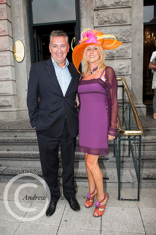 31/07/2014 There was an excellent turnout of fashionable ladies at Hotel Meyrick for their Most Stylish Lady Competition, judged by two of Ireland's leading fashion commentators Sonya Lennon  and Brendan Courtney .  At the event was Valerie Craughwell, Dublin, Foxrock .<br /> Picture:Andrew Downes