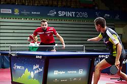 Patryk CHOJNOWSKI of Poland and KODJABASHEV Denislav Stefanov of Bulgaria play final match during Day 4 of SPINT 2018 - World Para Table Tennis Championships, on October 20, 2018, in Arena Zlatorog, Celje, Slovenia. Photo by Vid Ponikvar / Sportida