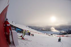 February 8, 2019 - ƒâ€¦Re, SWEDEN - 190208 Marc Oliveras of Andorra at a men's downhill training session during the FIS Alpine World Ski Championships on February 8, 2019 in Ã…re..Photo: Joel Marklund / BILDBYRÃ…N / kod JM / 87852 (Credit Image: © Joel Marklund/Bildbyran via ZUMA Press)