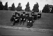 Christian Brothers .1972..11.08.1972..08.11.1972..11th August 1972..At St Marys,Christian Brothers College,Bray, the Christian Brothers prepare for their final profession before they move to the different provincial houses throughout the country...Included in this group picture are, Brothers, P C O'Keefe,Kimmage,Dublin, James Bagnall,Artane,Dublin, B D O'Reilly,Finglas,Dublin, G R Carberry,Donnycarney,Dublin, R W Warren,Sallynoggin,Dublin, P A Byrne,Drimnagh,Dublin, Oliver O'Sullivan,Crumlin,Dublin, .Brian Molloy,Rathfarnham,Dublin, .P E Hendrick,Rathgar,Dublin, N Roche,Portabello,Dublin, H G  Molloy,Ballsbridge,Dublin and Eugene O'Reilly, Bray, Wicklow.
