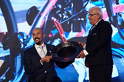 William Groulx at The UCI Cycling Gala 2018 in Guilin, China on October 21, 2018. Photo by Sean Robinson/velofocus.com