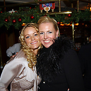 Kerstborrel Princess 2004, Inge de Bruijn en Monique Collignon