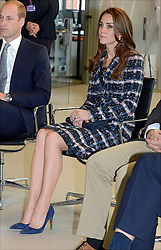 The Duchess of Cambridge during a tour of the University of Manchester to view the National Graphene Institute during a day of engagements in Manchester.