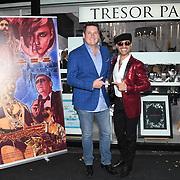 Tony Hadley, Naeem Mahmood arrives at Tresor Paris In2ruders - launch at Tresor Paris, 7 Greville Street, Hatton Garden, London, UK 13th September 2018.