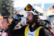 Tobias Rentsch, Teilnehmer beim Renzo's Schneeplausch vom 23. Januar 2016 in Vella, Gemeinde Lumnezia.