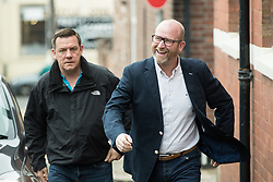 June 8, 2017 - Congleton, Cheshire, UK - Congleton, UK. UKIP leader Paul Nuttall arrives to vote in the general election at a polling station in Rood Lane Methodist Church. (Credit Image: © Joel Goodman/London News Pictures via ZUMA Wire)