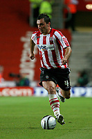 Fotball<br /> England<br /> Foto: Colorsport/Digitalsport<br /> NORWAY ONLY<br /> <br /> Southampton v Birmingham City, Carling Cup Round Two, St Mary's Stadium Southampton.<br /> Southampton's Polish footballer Marek Saganowski<br /> 25/08/2009
