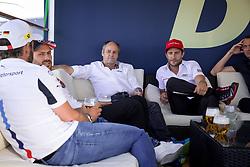 May 6, 2018 - Germany - Motorsports: DTM race Hockenheimring, Saison 2018 - 1. Event Hockenheimring, GER, Gary Paffett ( GBR, Mercedes HWA AG ), Timo Glock, ( D, BMW Team RMG ), Gerbard Berger (Credit Image: © Hoch Zwei via ZUMA Wire)