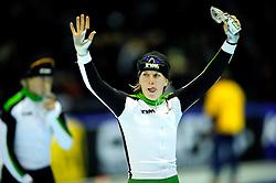 31-10-2009 SCHAATSEN: NK AFSTANDEN: HEERENVEEN<br /> Ireen Wust wint de 3000 meter<br /> ©2009-WWW.FOTOHOOGENDOORN.NL