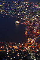 Hakodate's good harbor location makes it the gateway to Hokkaido. Hokkaido has enjoyed an active trade market since its excellent port has long been an established trade routes and its booming fishing industry.  Its night view from Mt Hakodate is said to be one of the best in Japan.