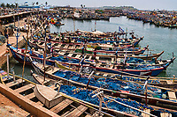 Elmina Fishing Fleet & Canal