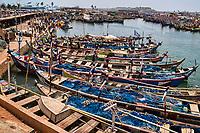 Elmina Fishing Fleet & Canal