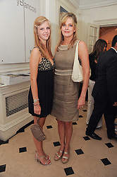 Left to right, CHRISTINA THOLSTRUP and her mother PAOLA THOLSTRUP at a party to celebrate the launch of Page One an online guide to London's 100 most rewarding restaurants held at the Halcyon Gallery, Bruton Street, London on 7th July 2010.