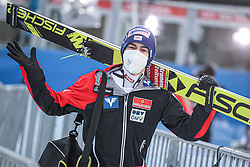 05.01.2021, Paul Außerleitner Schanze, Bischofshofen, AUT, FIS Weltcup Skisprung, Vierschanzentournee, Bischofshofen, Finale, Qualifikation, im Bild Stefan Kraft (AUT) // Stefan Kraft (AUT) during the qualification for the final of the Four Hills Tournament of FIS Ski Jumping World Cup at the Paul Außerleitner Schanze in Bischofshofen, Austria on 2021/01/05. EXPA Pictures © 2020, PhotoCredit: EXPA/ Tadeusz Mieczynski