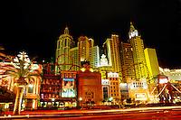 New York New York Hotel and Casino, Las Vegas Boulevard (the Strip), Las Vegas, Nevada USA