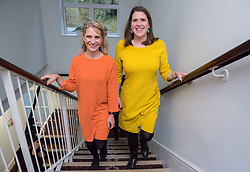 © Licensed to London News Pictures. 10/12/2019. Bath, Bath and North East Somerset, UK. General Election 2019; JO SWINSON, leader of the Liberal Democrats Party, with Lib Dem candidate for Bath WERA HOBHOUSE, at a rally with Liberal Democrat activists in Bath at the Bailbrook House Hotel, followed by national canvassing in the constituency. She will discuss the findings that Brexit is costing the British public £350 million a week, money that could be invested in the NHS. The Bath MP before the election was called was the Lib Dems Wera Hobhouse. Photo credit: Simon Chapman/LNP.