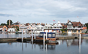 Henley on Thames, United Kingdom. 2016 Henley Masters' Regatta. Henley Reach. England. on Saturday  09/07/2016   [Mandatory Credit/ Peter SPURRIER/Intersport Images]<br /> <br /> Rowing, Henley Reach, Henley Masters' Regatta.<br /> <br /> General View, walking through the Tented Henley Festival site to Henley Reach, venue, for the 2016 Henley Masters Regatta.