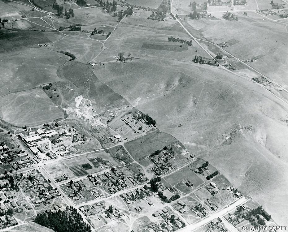 1922 Aerial photo of Vitagraph Studios