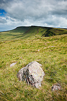 Picws Du and Bannau Sir Gaer, Black mountain, Brecon Beacons national park, Wales