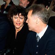 Mattheus Passion 1996 in Naarden, Paul Witteman en vrouw Gonnie