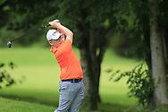 Gavin Tiernan (Co. Louth) during the Connacht U14 Boys Amateur Open, Ballinasloe Golf Club, Ballinasloe, Galway,  Ireland. 10/07/2019<br /> Picture: Golffile   Fran Caffrey<br /> <br /> <br /> All photo usage must carry mandatory copyright credit (© Golffile   Fran Caffrey)