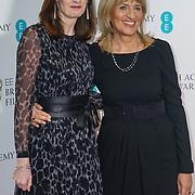 London, England, UK. 9th January 2018. Amanda Berry OBE, Jane Lush attend EE British Academy Film Awards Nominations, London, UK