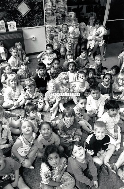 Primary school Nottingham UK 1990