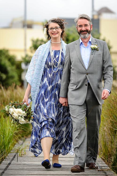 WELLINGTON, NEW ZEALAND - January 24: Kaarin Macaulay and Dan Slevin's wedding photos January 24, 2016 in Wellington, New Zealand. (Photo by Mark Tantrum/ http://mark tantrum.com)